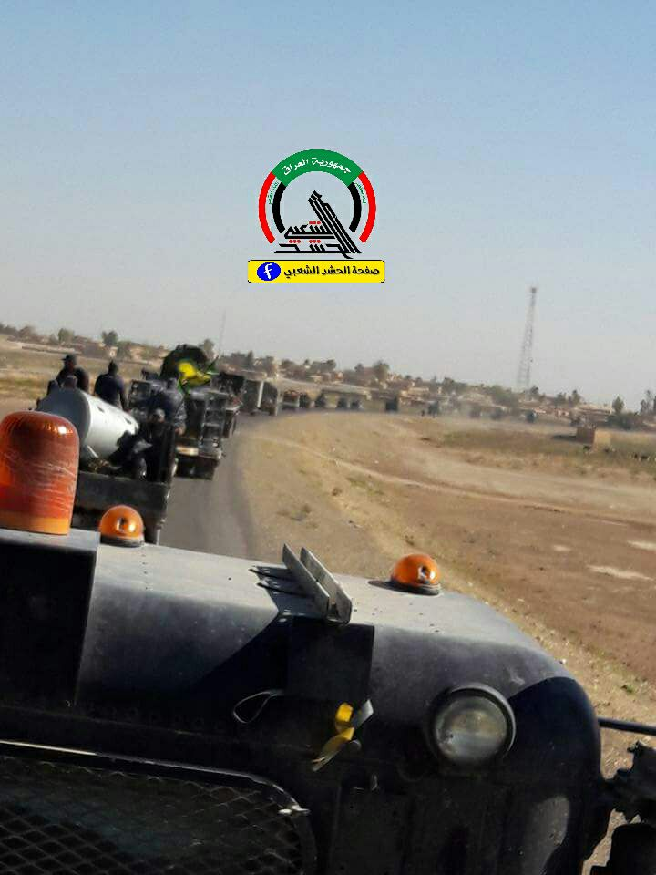 Photo of القوات العراقية ومليشيات الحشد الشعبي تندفع الى حدود كردستان