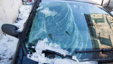 Photo of الأرصاد الجوية السويدية تطلق تحذير الفئة الأولى بسبب الجليد الأسود
