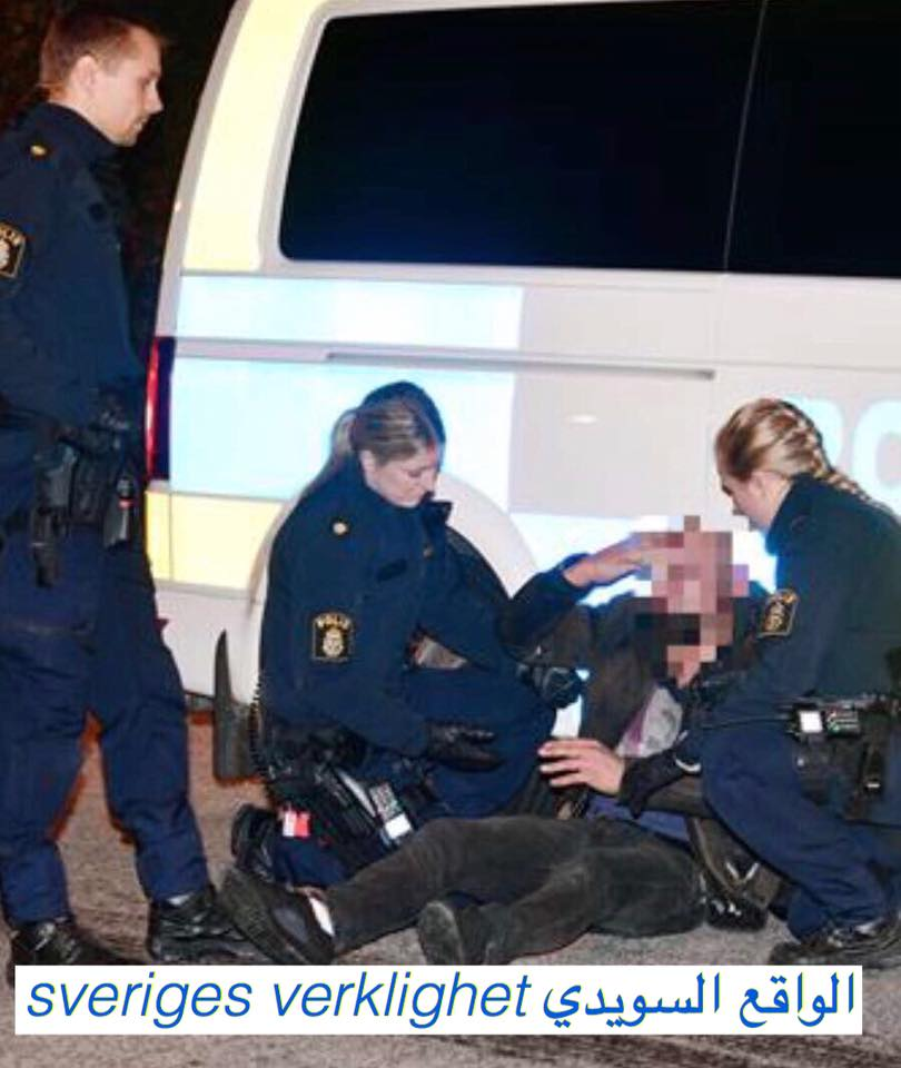 Photo of الحكم على شرطية سويدية في اوبسالة بعد أن ضربت و نعتت احد المراهقين بأبن الحرام(Haram barn)