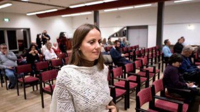 Photo of إستقبال الأمام النسائي شيرين كنعان اليوم في لانسكرونا .
