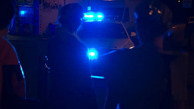 Photo of أنفجار في ضاحية سولنا في ستوكهولم في درج بنايه وأشتباه بأستعمال قنبلة يدوية