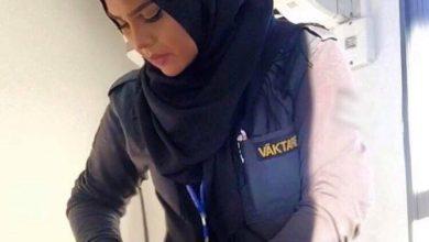 Photo of فصل مسلمة سويدية من العمل كحارسة امنية بسبب حجابها