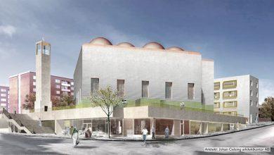 Photo of بلدية ستوكهولم تمنح منطقة رنكبي بناء مسجد اسلامي ضخم مع منارة ثقافية وقبب