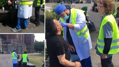 Photo of مسلمين يقدمون الفيكا والقهوة ومساعدة اسنان مجانية في مدينة مالمو