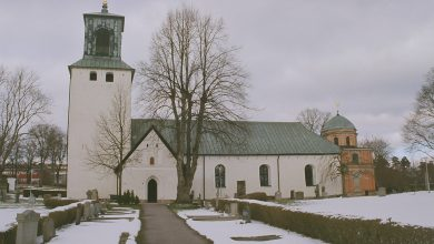 Photo of إنفجار قرب كنيسة سويدية في سبونكا spånga في ستوكهولم