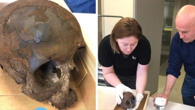 Photo of لغز جمجمة الطفل التي تم إيجادها في بحيرة جنوب بلدية أسكلتونا