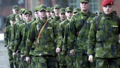 Photo of الحكومة السويدية ترفع أعداد الأشخاص الداخلين للخدمة العسكرية