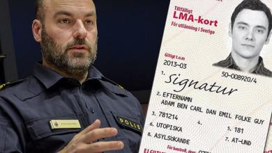 """Photo of شرطة الحدود السويدية """"بطاقة الأجئ تباع ب ٢٠٠٠ كرون"""" في السوق السوداء"""