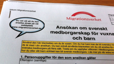 Photo of محكمة الأستئناف تدرس قضية لاجئ سياسي سوري رفض طلبه للجنسية السويدية