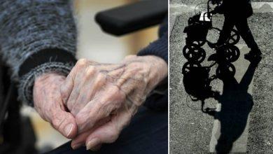 Photo of طرد عجوز 82 عام من سكن المسنين بعد وفاة زوجته