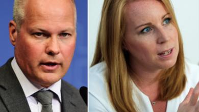 Photo of وزير العدل السويدي ورئيسة حزب الوسط يستنكران الهجوم الأرهابي في نيوزلندا