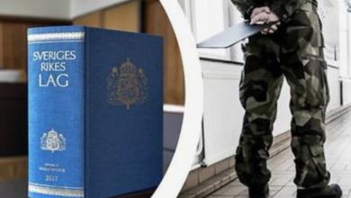Photo of عقاب من ينشق عن الجيش السويدي في مرحلة الخدمة العسكرية