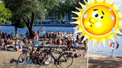 Photo of مخاطر محتملة من أرتفاع درجات الحرارة على الكبار والمرضى في اليوم الوطني السويدي