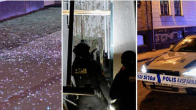 Photo of إصابة أمرأة بأنفجار قوي يستهدف محل بيع خضروات وسجائر في بلدية  لوند