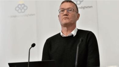 """Photo of هيئة الصحة العامة في لقاء صحفي"""" أنتشار للفايروس في مناطق سويدية أخرى"""""""