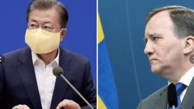 Photo of رئيس الوزراء السويدي يطلب مساعدة كوريا الجنوبية في مواجهة الكورونا