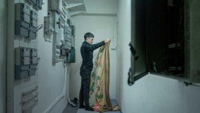 Photo of علي شاكوري ينام في غرفة كهرباء بسبب دائرة الهجرة