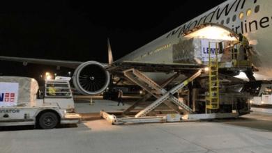 Photo of وصول شحنة معدات طبية كبيرة من الصين لمواجه الكورونا