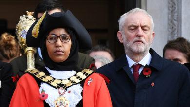 Photo of تضامن مع أول رئيسة بلدية محجبة في بريطانيا
