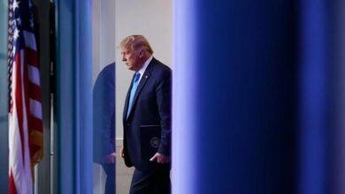 "Photo of بعد يوم مظلم "" ..رغم اقتحامه الكونغرس  ترامب يصدق على فوز بایدن برئاسة أمريكا ."
