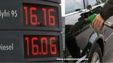 Photo of ارتفاع جديد لأسعار البنزين والديزل في السويد وتوقع وصول لتر البنزين ال 17 کرون سويدي