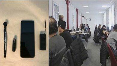 Photo of مصلحة المرور السويدية : کشف 16 شخصا يغشون في اختبار القيادة النظري