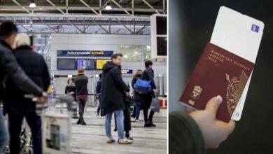 """Photo of السويد تطلق """" جوازات كورونا """" في الأول من يونيو القادم"""
