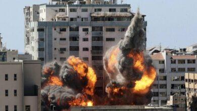 Photo of اهتمام سويدي بعد قصف برج في غزة يضم مكاتب اعلامية وصحفية
