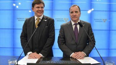Photo of زعيم حزب ديمقراطيو السويد لوفين كانت استقالته متوقعة